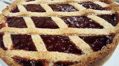 Version de Torta linzer (de frutilla) - Cocineros Argentinos
