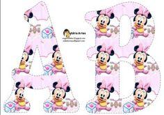 Alfabeto de Minnie baby