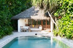 Luxury Maldives Villas | Soneva Fushi Villa Suite with Pool