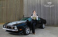 """Rita Lynch for the """"Girls & legendary US-Cars"""" 2016 calendar by Carlos Kella / SWAY Books. Limited and numbered to 2016 pieces. Get one of the last pieces signed by the photographer: www.sway-books.de"""