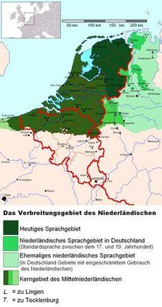 Die Niederländische Sprache in Deutschland