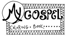 My Gospel Coloring Book: Jesus is King (great site for free printable materials done by a great artist for bible lessons)