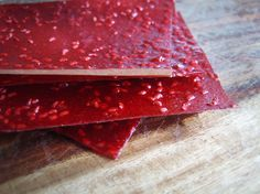 Use this recipe as a base to make any kind of fruit leather in a dehydrator.     I love fruit leather!