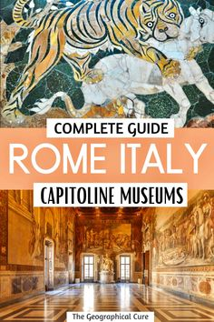 Planning a vacation in Rome? The Capitoline Museums should be on your itinerary or bucket list for Rome. The museums is Rome's oldest and best museum. This Rome travel guide takes you on a tour of the Capitoline Museums. If you love ancient sculpture, you'll love this museum. It gives you a unique up close look at Rome's ancient imperial history. It's a great place to visit before touring the imperial ruins. Rome Itineraries | What To Do in Rome | Best Things To Do and See In Rome | #rome