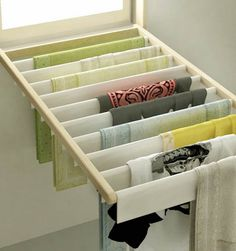 Flip Down Window Blinds, Space Saving Laundry Room Ideas