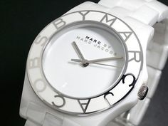 white Ceramic Marc by Marc Jacobs
