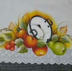 Fruit Painting, Fabric Painting, Painting & Drawing, Stencil Patterns, Fruit Art, Paint Designs, Beautiful Paintings, Painting Inspiration, Painted Rocks