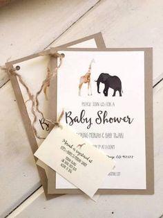 Contemporary Safari Baby Shower decorations, Contemporary Safari Baby Shower ideas, Contemporary Safari Baby Shower theme, invitations, free games