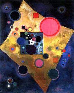 Wassily Kandinsky (Russian, 1866-1944) http://jetsetcocouture.blogspot.com/2009_10_01_archive.html