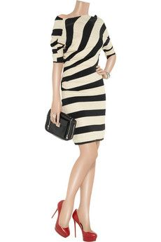 Vivienne Westwood Anglomania Arianna striped jersey dress
