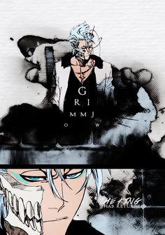 Grimmjow Jaegerjaquez // Bleach // He's back.