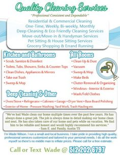 House Cleaning Marketing Flyer  House