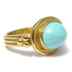 Daniel Gibbings Persian Turquoise Ring