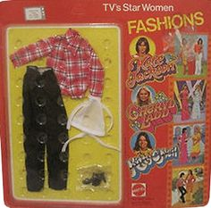 *1978 TV's star women fashions outfit 2 #2499