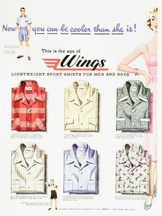 Vintage Clothes/ Fashion Ads of the 1950s (Page 6)