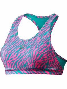 Sports Gifts for Friends - Fitness Products and Gifts - Seventeen- Okay, I have cute sports bras, but this is just plain old awesome! Love the colors, and the design! #17holiday