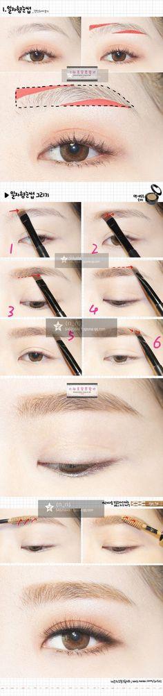 follow me @cushite Korean style make up:                                                                                                                                                                                 More