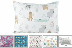 BB MY BEST BUDDY Toddler Pillowcase by My Best Buddy  100 cotton  New Safari and Zoo Animals for your kids  13 x 18 shrinks to fit envelope style closure  designed in the USA -- You can get additional details at the image link. (Note:Amazon affiliate link)
