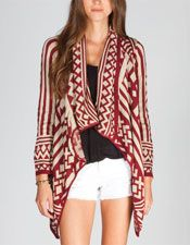 FULL TILT Native Womens Wrap 218091149 | Cardigans & Wraps | Tillys.com