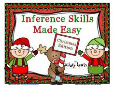Inference Holiday Freebie-Christmas Edition from Rockin Teacher Materials on TeachersNotebook.com -  (7 pages)  - Inference fun for the holidays!