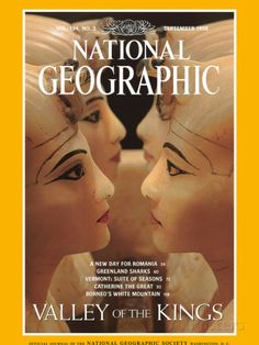 Keneth Garett cover of september-1998-issue of national geographic magazine.