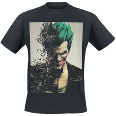 Arkham Origins - Joker - T-Shirt by Batman - Article Number: 281899 - from 16.99 £ - EMP Mail Order UK Ltd. ::: The Heavy Metal Mailorder ::...