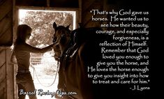 the moment when you feel god watching you through the eyes of a horse