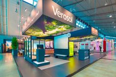 Stand from The Inside stand building at R&T in Stuttgart, Germany - 220 m2