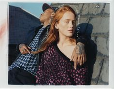 ​rejjie snow and india salvor menuez are the new faces of french connection | watch | i-D