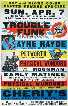 Trouble Funk by Globe Poster