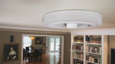 Minimalist Bladeless Fan Creates Vortex In Your Living Room