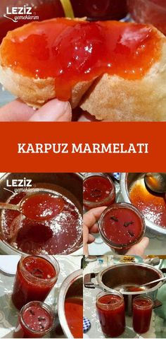 Watermelon Marmalade – My Delicious Food Christmas Tree Food, Christmas Desserts, Cheesecake Recipes, Dessert Recipes, Watermelon Jelly, Veggie Kabobs, Shortbread Bars, Summer Grilling Recipes, Turkish Recipes