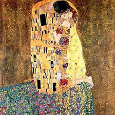 """""""El BEso"""" de Klimt, reproduccion de algomasquearte.es"""