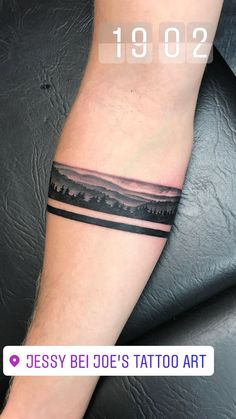 Armband, Tattoo, Rhön, Unterarm, Jessy bei Joe's Tattoo Art