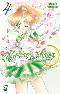 Buy Sailor Moon Vol. 4 by Naoko Takeuchi at Mighty Ape NZ. Usagi Tsukino is a normal girl until she meets up with Luna, a talking cat, who tells her . Sailor Jupiter, Sailor Venus, Sailor Mars, Naoko Takeuchi, Comic Manga, Free Comic Books, Sailor Moon Manga, Moon Princess, Japanese Characters