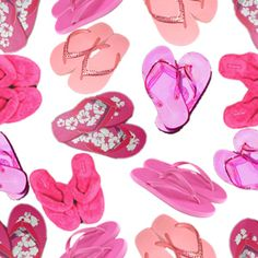 pink flip flop space picture and wallpaper