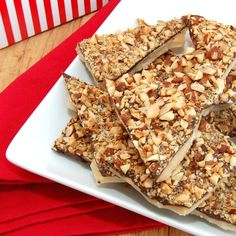 Sweet Pea's Kitchen » Old Fashioned Butter Crunch Candy