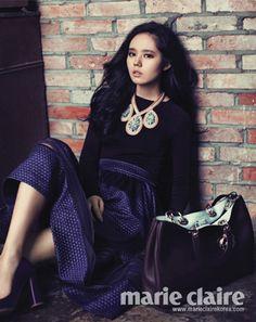Han Ga In Marie Claire Korea Magazine October 2012