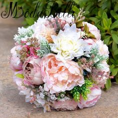 >> Click to Buy << modabelle 2017 New Arrival Artificial Wedding Bouquets Buques Para Casamento Artificial Bridal Bouquet Brooch Bouquet De Mariage #Affiliate