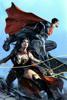 "dcvertigodaily: ""Trinity by Gabriele Dell'otto """