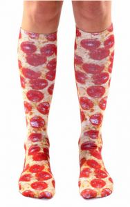 #madeinUSA pizza socks: Gifts for the pizza lover