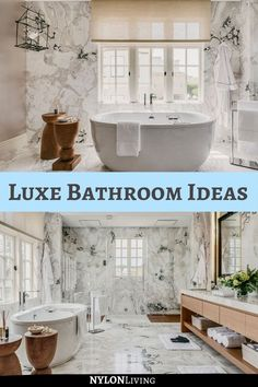 Get inspo from the luxe bathrooms at the San Francisco Decorators Show Home 2020 | luxury homes dream houses| luxury homes dream houses interior | luxury homes dream houses interior bedrooms | luxury homes dream houses interior beautiful | luxury homes dream houses interior décor | luxury homes interior | modern house tour interior | dining room ideas modern house tours | luxury modern house tour | California house style interior | northern california house style | california house aesthetic Luxury Modern Homes, Luxury Homes Dream Houses, Luxury Homes Interior, Interior Modern, Home Interior Design, Bathroom Inspiration, Interior Design Inspiration, Bathroom Ideas, Beach House Bathroom