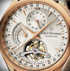 Carl F. Bucherer - MANERO Tourbillon Limited Edition Reference number: 00.10918.03.13.01