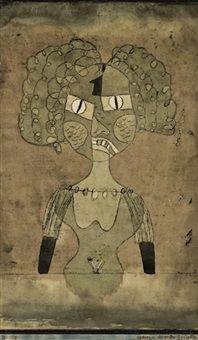 Paul Klee 'Gespenst der ersten geliebten' (Ghost of the First Beloved)[my own translation g.s.]