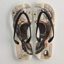 Premium flip flop manufacturer teams up with artist Peter Tunney to create a summer sensation that you'll flip for!