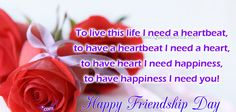 Romantic Freindship Day Wishes and Greetings