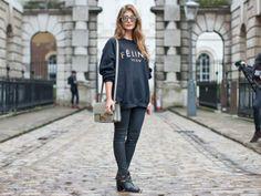 Street style at London Fashion Week: Charlie Byrne, fashion writer at The Times - Street style at London Fashion Week - MSN Her UK