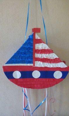 Piñata Barco