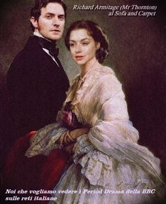 JOHN AND MARGARET AT HOME. RICHARD ARMITAGE FAN ART