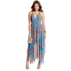 GUESS by Marciano Paz Paisley Maxi Dress